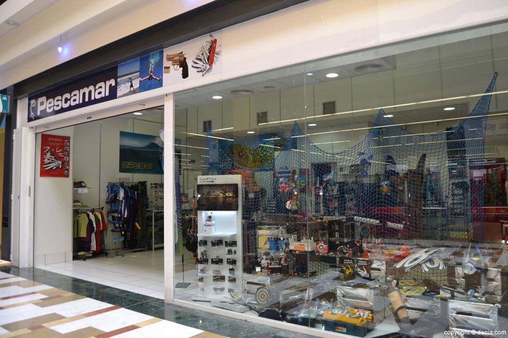 Nova botiga Pescamar en portal de la marina
