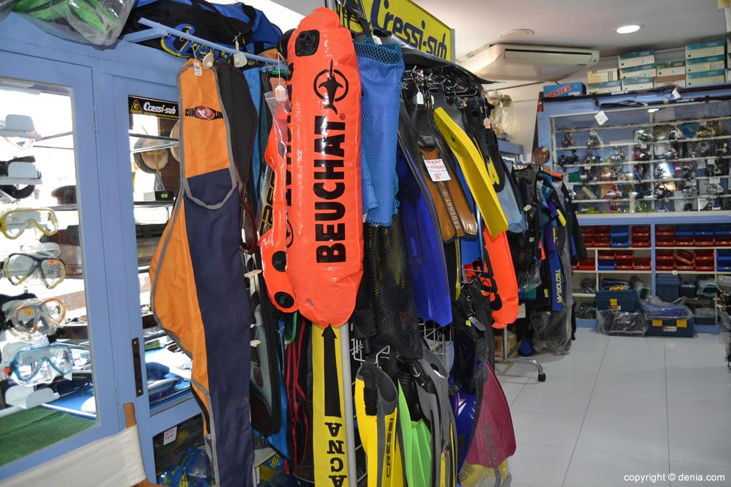 Pescamar - accessoris per al busseig