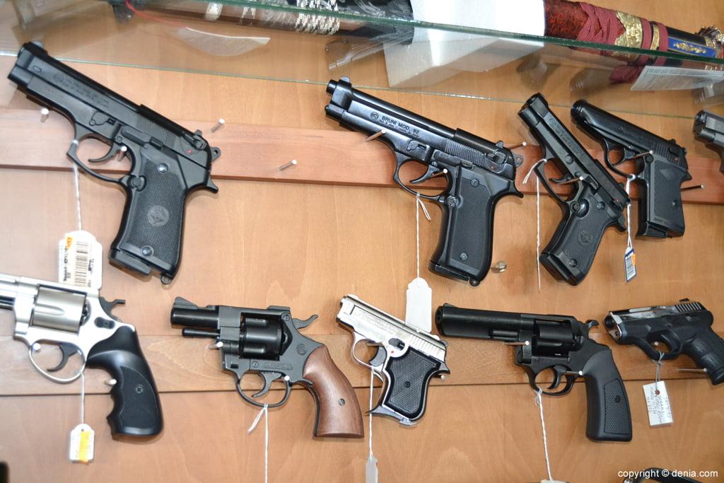 Pescamar - pistoles d'aire comprimit