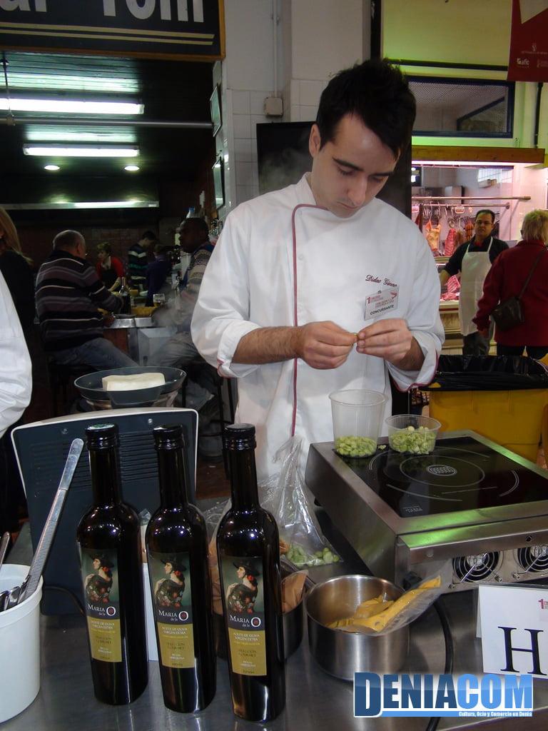 Preparación de los cocineros del restaurante Camí Vell de Alzira