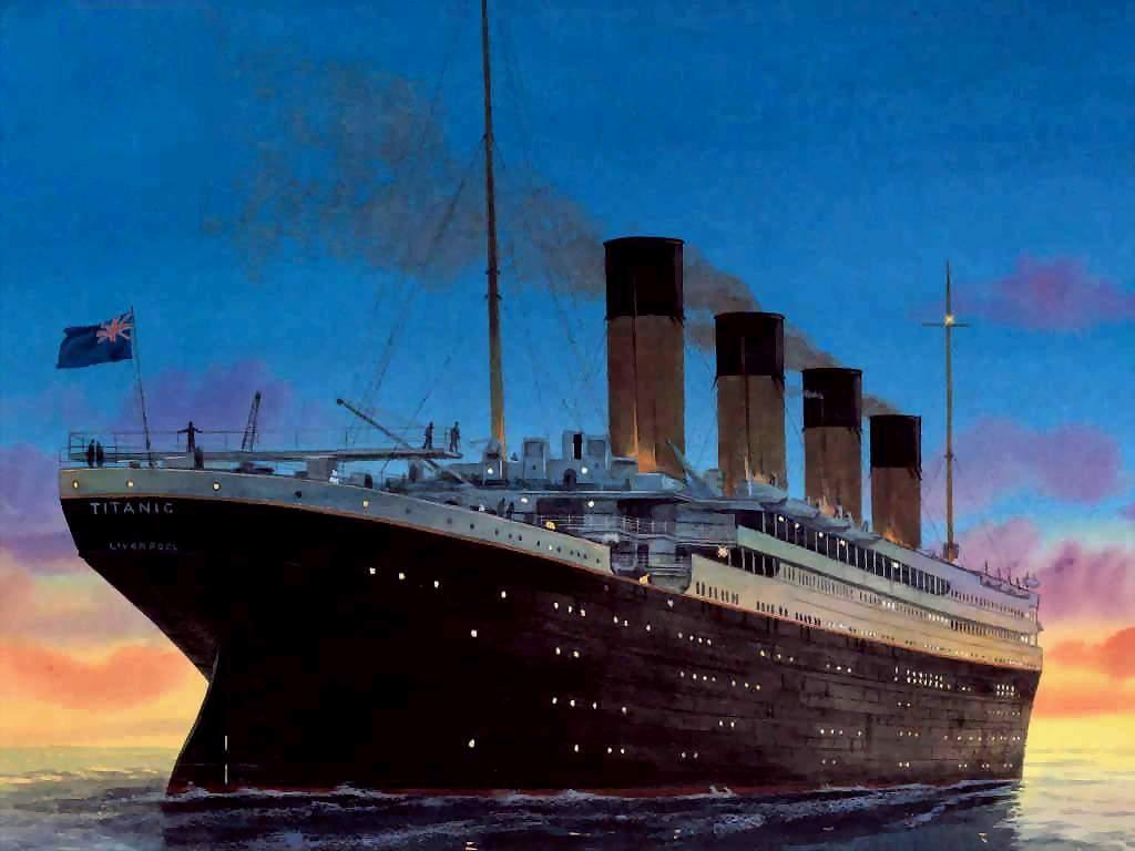 Титаник в картинках, добрым утром