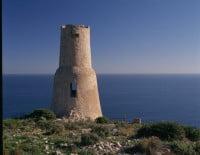 Ruta hasta la Torre del Gerro en bici en Dénia