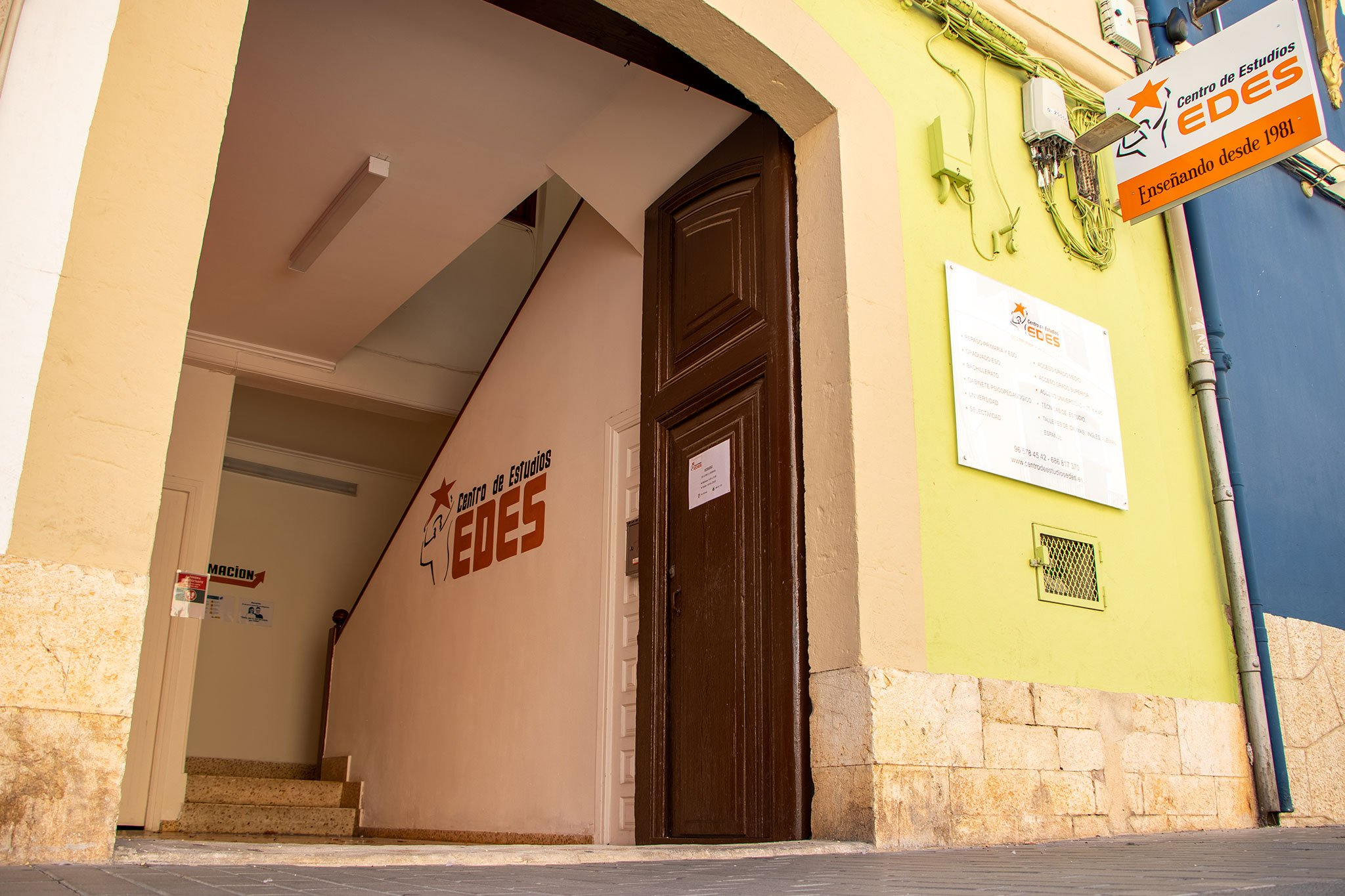 Acceso a Centro de Estudios EDES