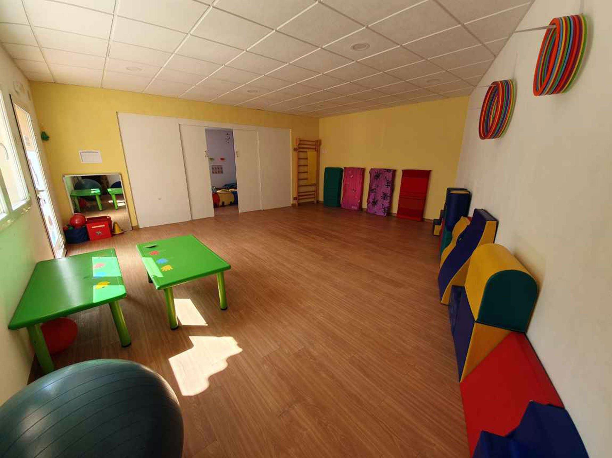 Aula de psicomotricitat - Escoleta El Castellet