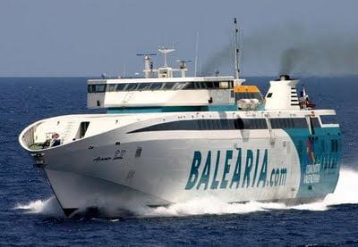 De Dénia a Ibiza en Barco