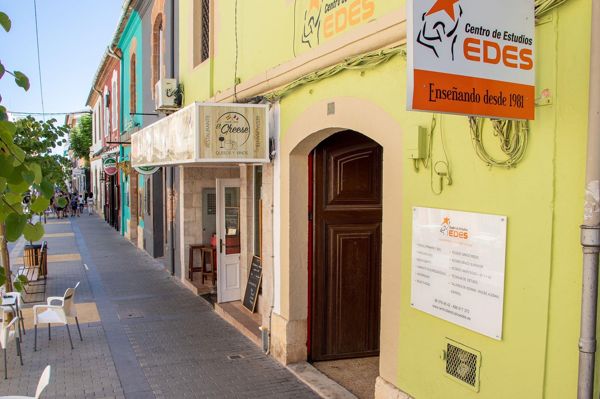 Exterior – Centro de Estudios EDES