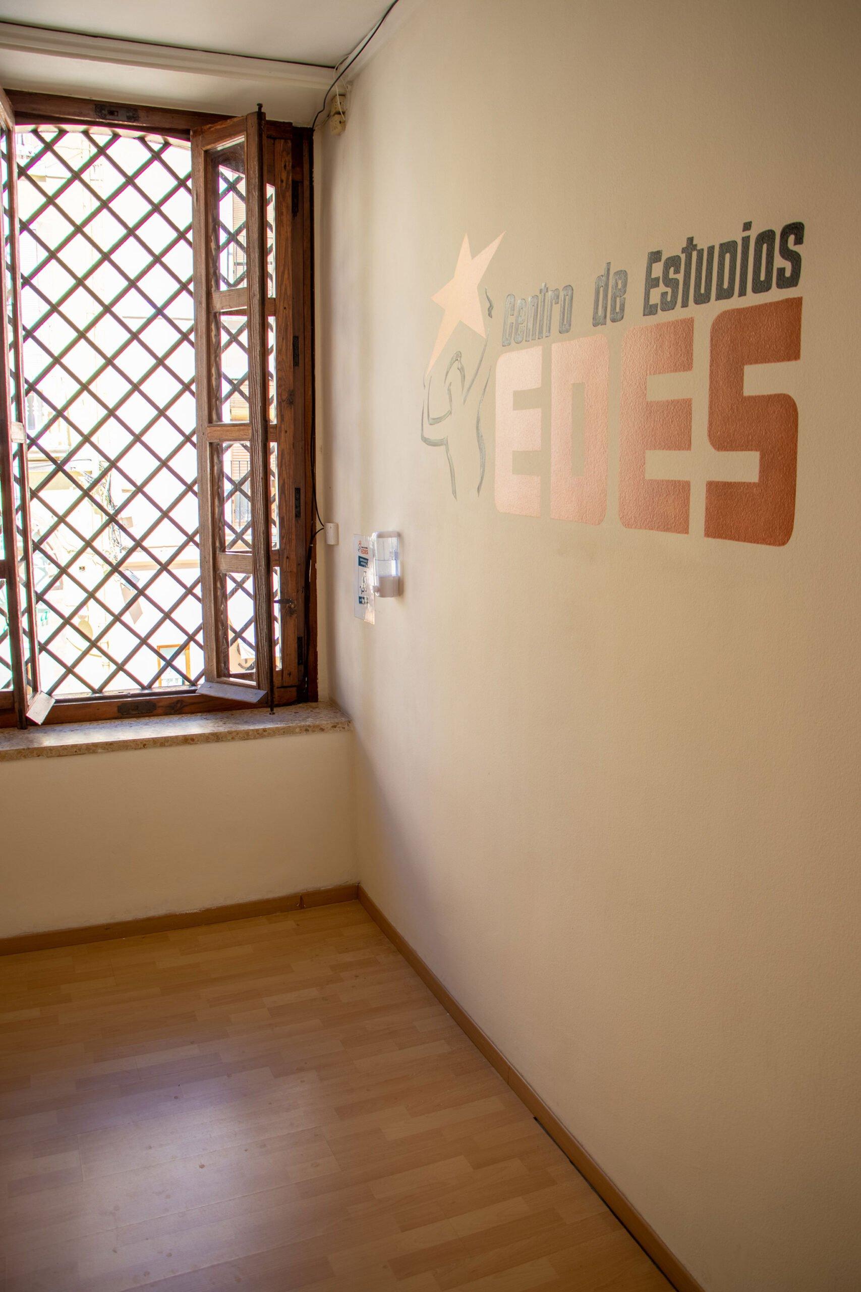 Interior de las instalaciones Centro de Estudios EDES