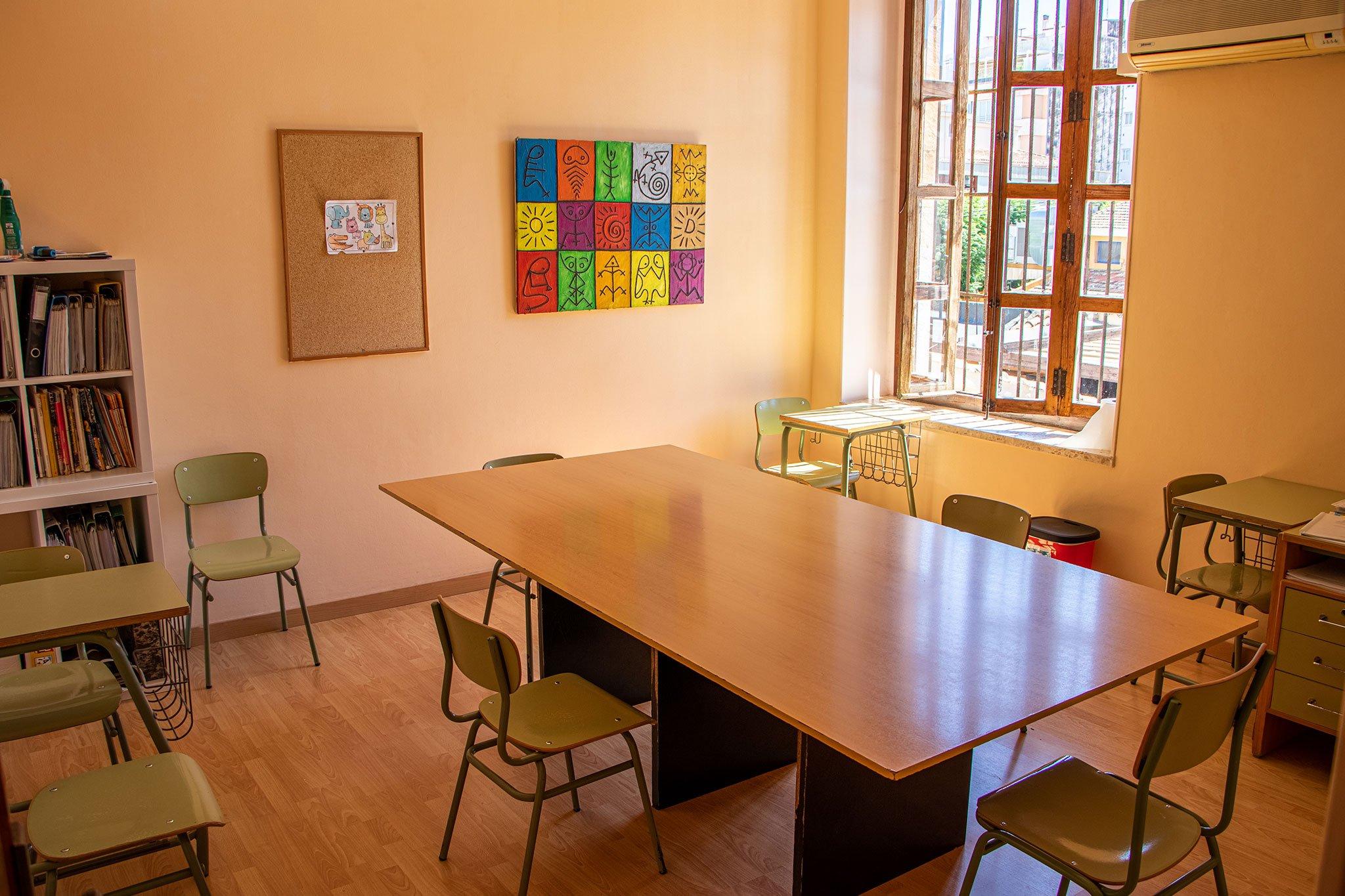 Interior de un aula – Centro de Estudios EDES