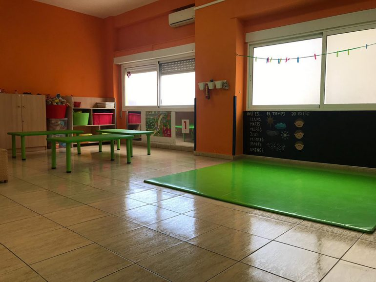 Interior Escoleta El Castellet