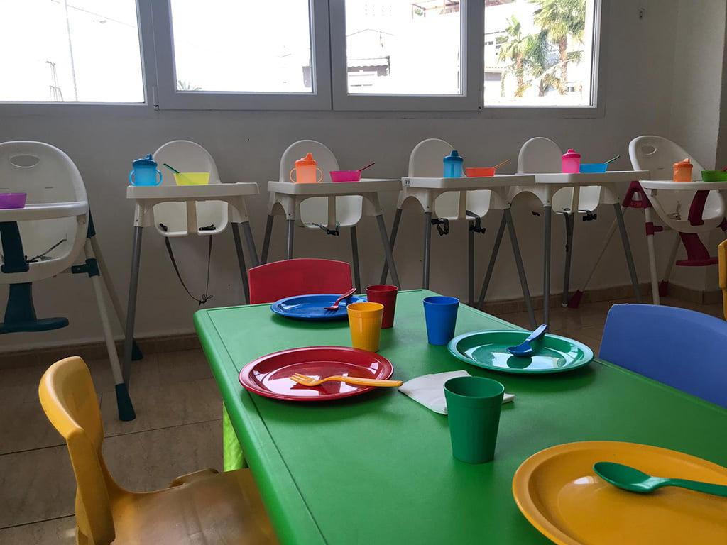 Taules menjador Escoleta El Castellet