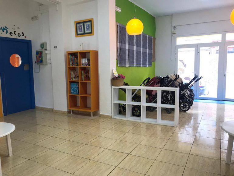 Zona entrada Escoleta El Castellet