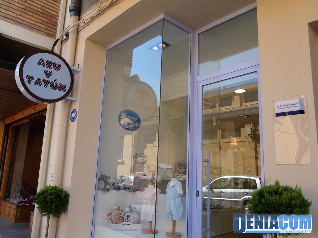 Abu and Tatún Dénia - Baby store