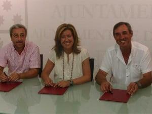 Ayuntamiento y AMMICC firman el convenio de 2012