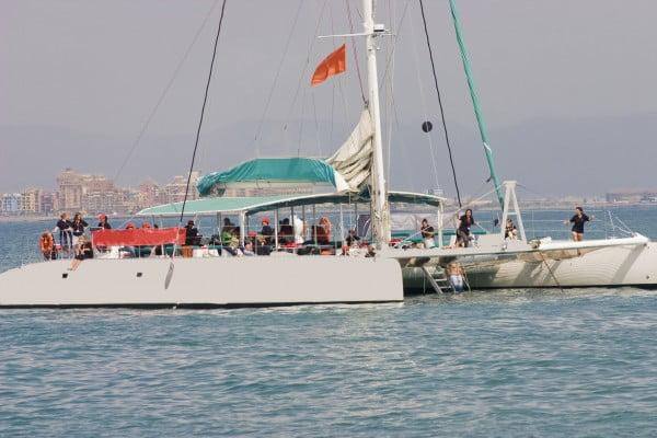 Catamarán Dénia