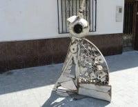 Escultura de Salvador Mollà en la Plaza Mariana Pineda de Dénia 03