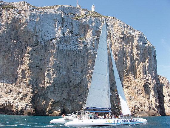 Excursión en catamarán por las calas de la Costa Blanca