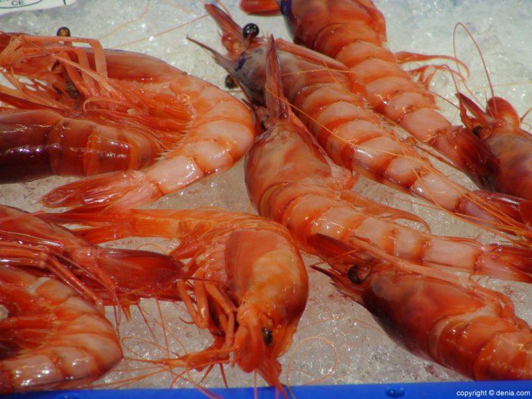 Mercado Municipal de Dénia - Gamba Roja
