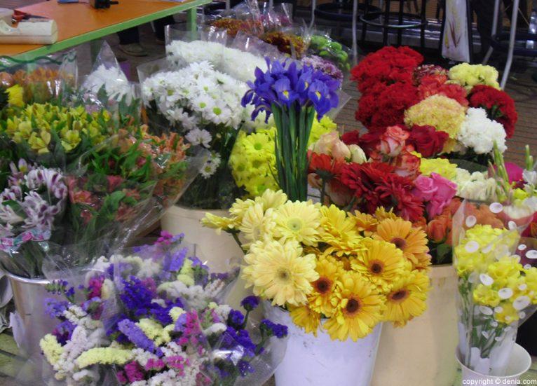 Mercado de Dénia - Flores