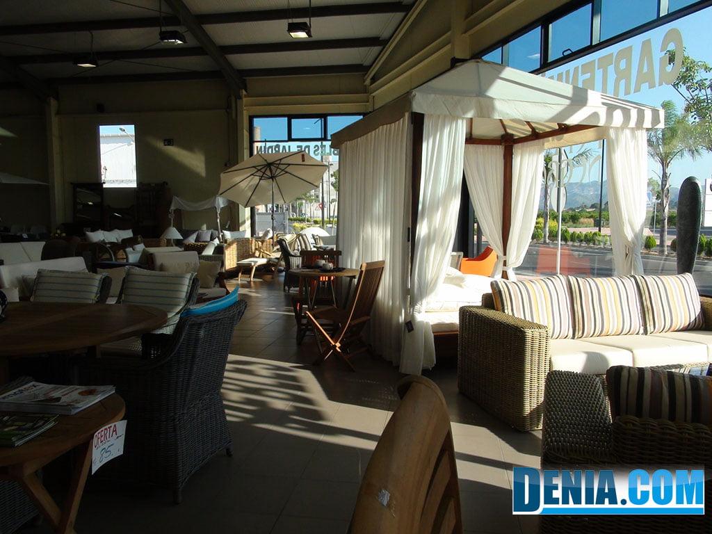 Perla Negra, muebles Dénia, exposición muebles de jardín y terraza ...