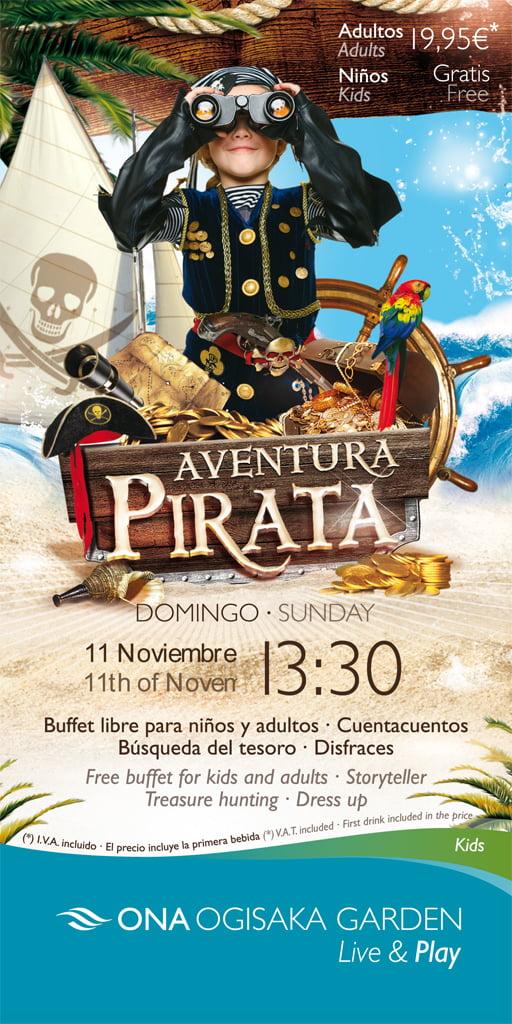 Aventure de pirate