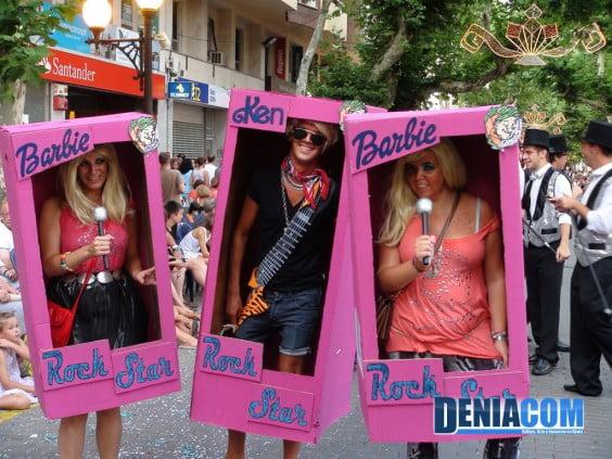 Barbie y Ken en la Musicalité