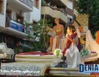 Carroza Fent História de la Falla Saladar