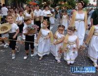 Comparsa infantil de la Falla Saladar