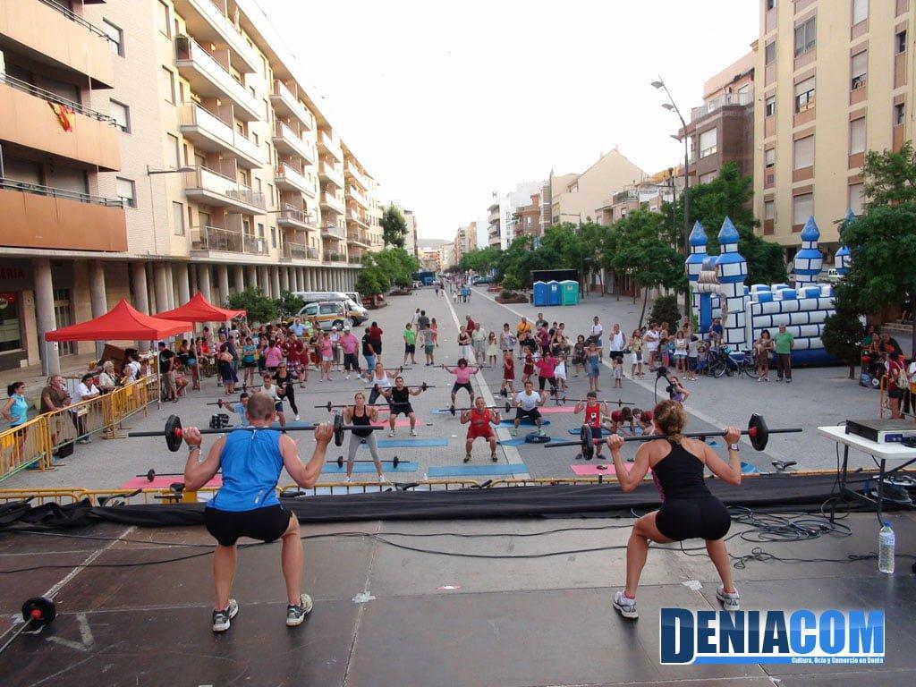 El gimnasio q fitness colabora en el marat n deportivo for Gimnasio denia