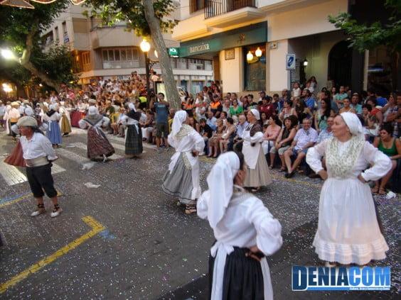 Jotas manchegas en el Desfile de Carrozas 2012