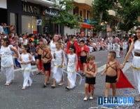 Los niños de la Falla Diana completan la comparsa 300