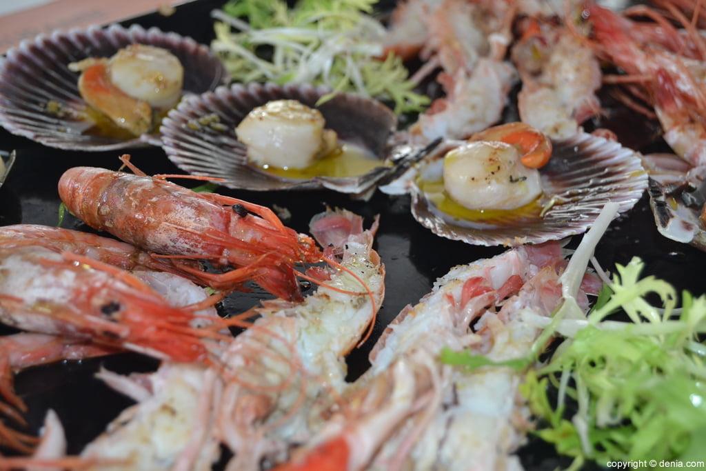 Marisco en Restaurante Mena
