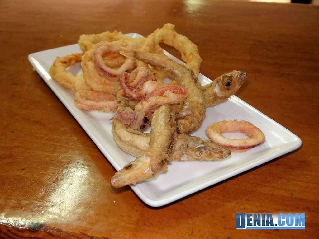 Restaurante Mena Dénia, Pescadito Frito