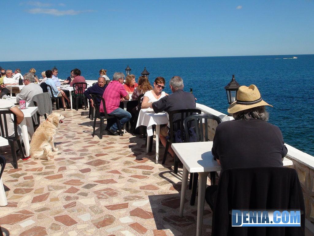 Ristorante Mena Denia, terrazza sul mare II