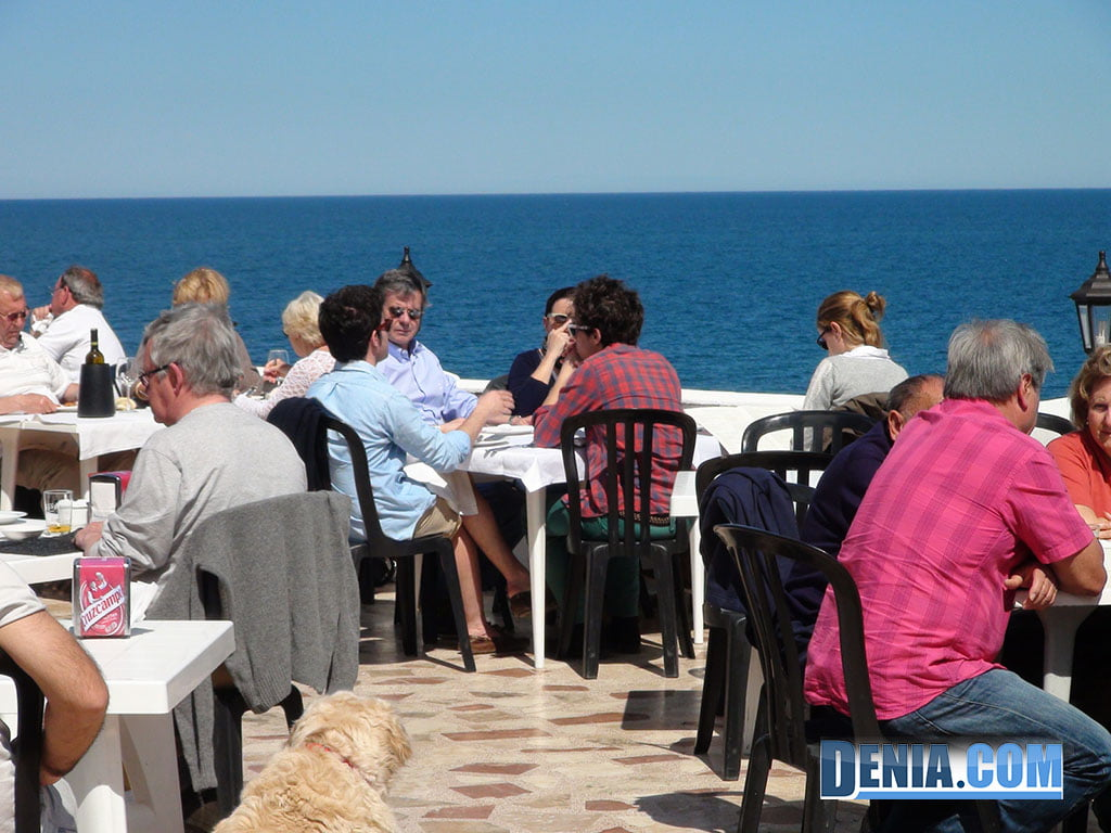 Restaurant Mena Dénia, Terrace by the Sea