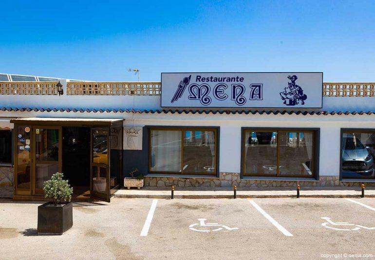 Mena Restaurant entrance