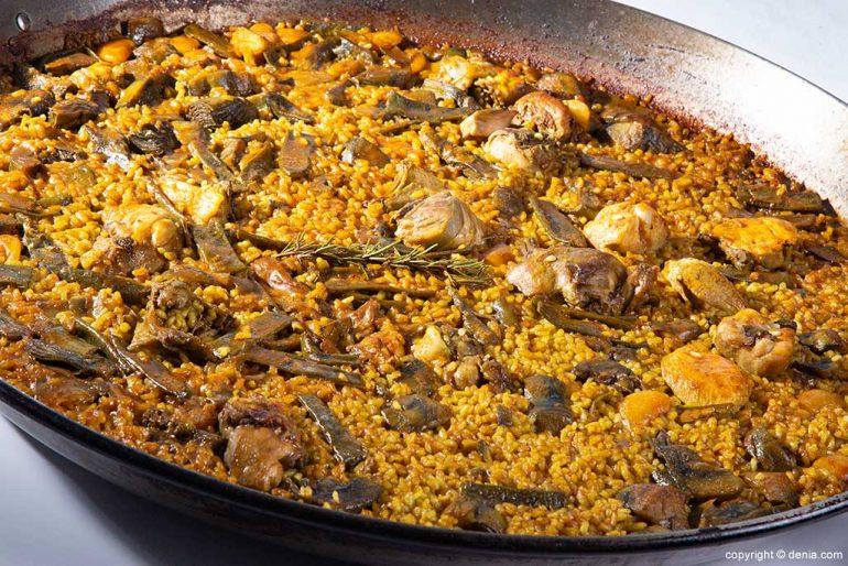 Paella Restaurante Mena