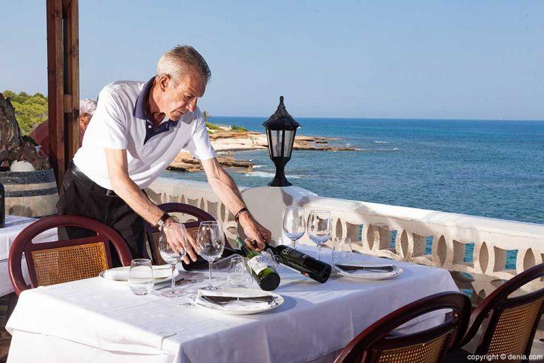 Wine selection Mena Restaurant