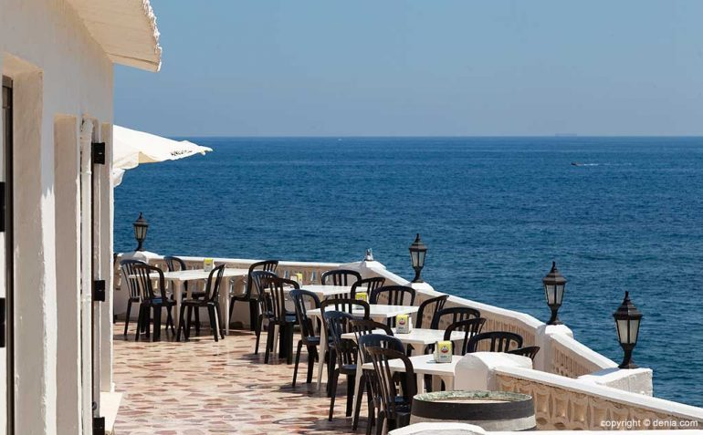 Terraza con vistas Restaurante Mena
