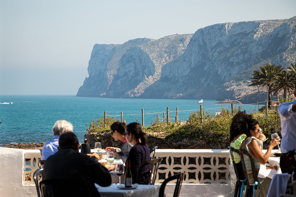 Vistas terraza Restaurante Mena
