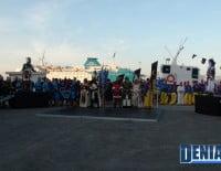 Acto del Desembarco de las fiestas de Moros y Cristianos Dénia 2012