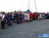 Bando moro durante el Desembarco de los Moros y Cristianos Dénia 2012