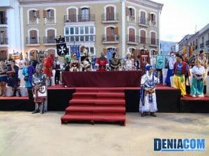 Firma de la Tregua de las fiestas de Moros y Crisitianos de Dénia 2012