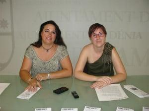 Isabel Gallego y Raquel Alcaraz presentan los nuevos cursos de Dinàmics