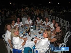 La filà Amazigh en la Cena de Gala de la AMMICC