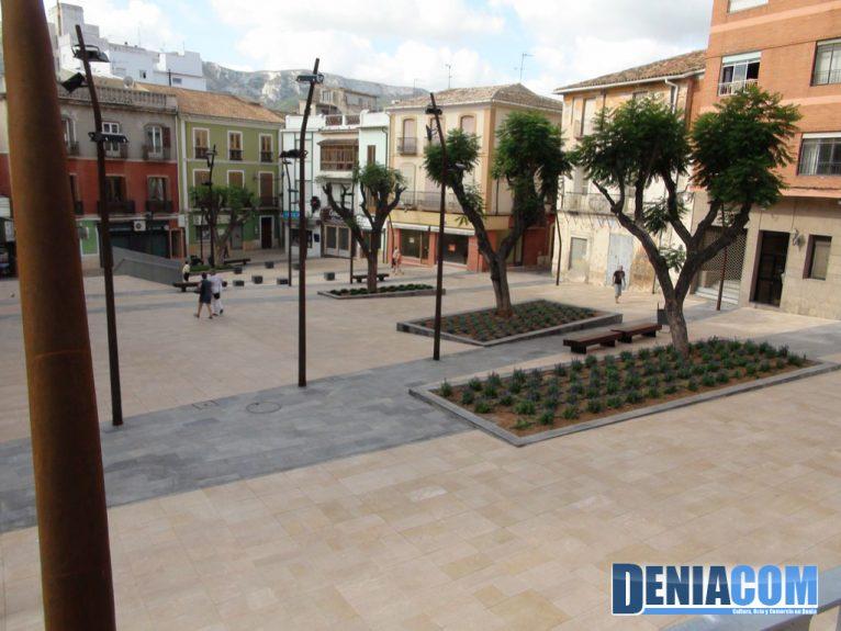 Plaza del Ayuntamiento de Dénia