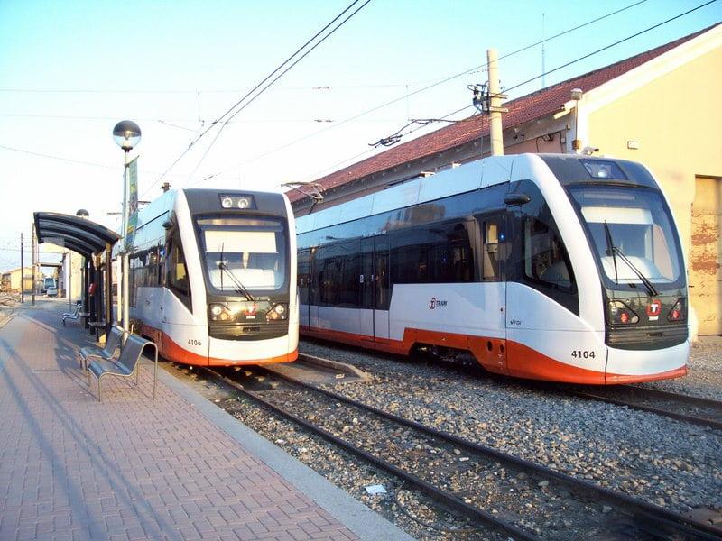 Tram lines alicante