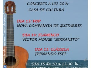 VIII Jornades de Guitarra Ciutat de Dénia