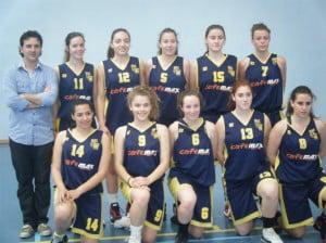 Equipo Cadete Femenino Basquet Dénia