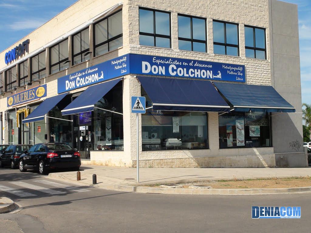 Fachada Don Colchon
