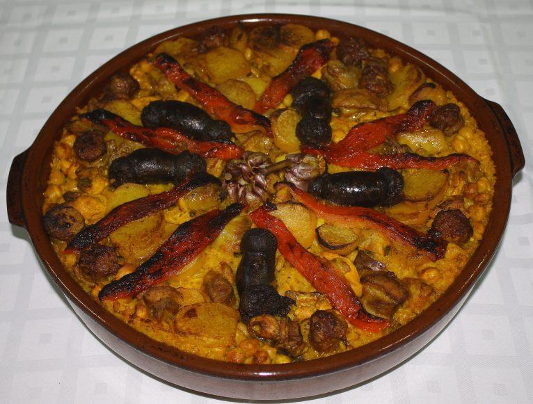 Arroz al horno Restaurante Isa